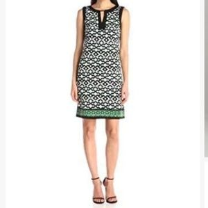 London Times Women Geometric Print Dress
